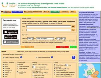 travelineeastmidlands.co.uk screenshot
