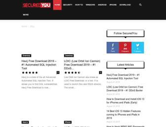 securedyou.com screenshot