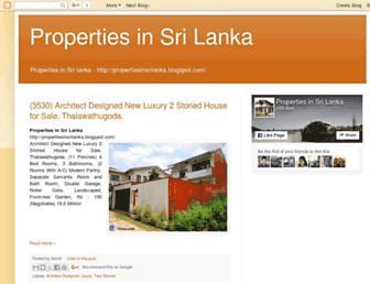 propertiesinsrilanka.blogspot.com screenshot