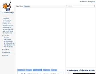 tusach.thuvienkhoahoc.com screenshot