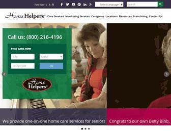homehelpershomecare.com screenshot