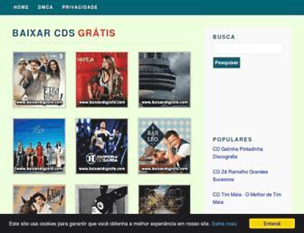 baixarcdsgratis.com screenshot