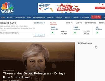 cnbcindonesia.com screenshot