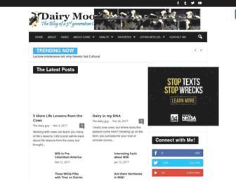dairymoos.com screenshot