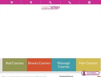 nextstepbeauty.co.uk screenshot
