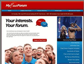 Thumbshot of Myfastforum.org
