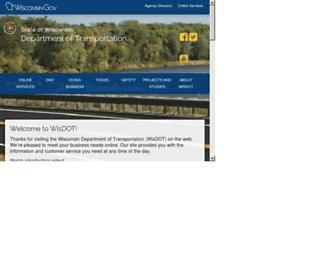 wisconsindot.gov screenshot