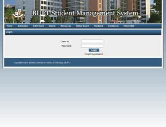 sms.buft.edu.bd screenshot