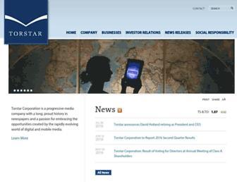 Thumbshot of Torstar.com