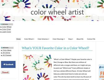 color-wheel-artist.com screenshot