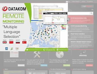 datakom.com.tr screenshot