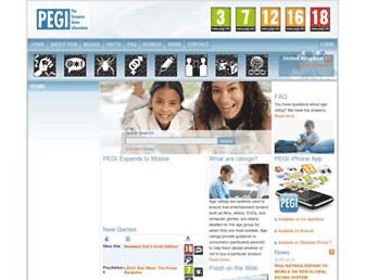 pegi.info screenshot