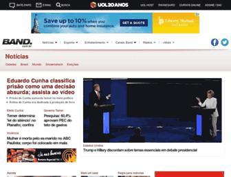 noticias.band.uol.com.br screenshot