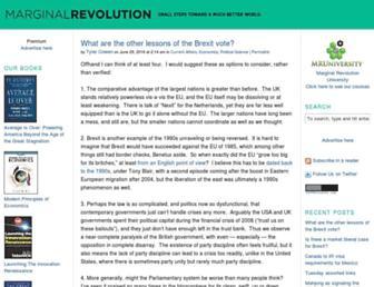 Fullscreen thumbnail of marginalrevolution.com