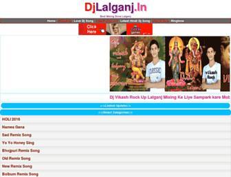 djlalganj.com screenshot