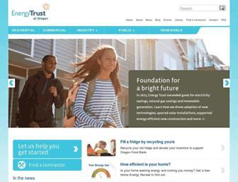 energytrust.org screenshot