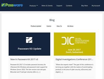 blog.passware.com screenshot