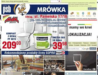 Main page screenshot of portel.pl