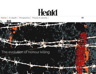 herald.dawn.com screenshot