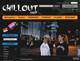 chillout-shop.pl screenshot