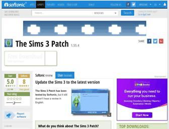 the-sims-3-patch.en.softonic.com screenshot