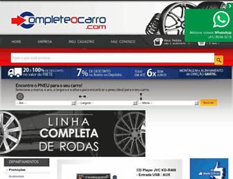 Screenshot for completeocarro.com.br