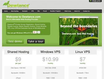 Thumbshot of Dewlance.com