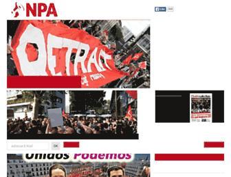 Fullscreen thumbnail of npa2009.org