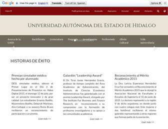 uaeh.edu.mx screenshot