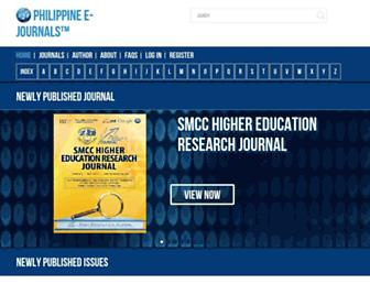 ejournals.ph screenshot