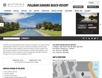 pullman-danang.com screenshot