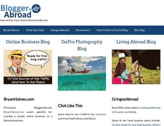 Thumbshot of Bloggerabroad.com
