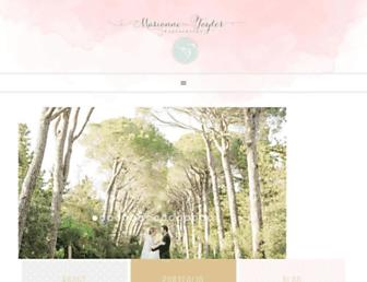 Main page screenshot of mariannetaylorphotography.co.uk
