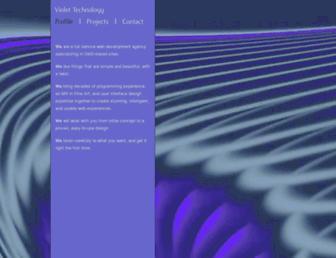 violet-tech.com screenshot