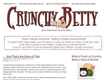 Thumbshot of Crunchybetty.com