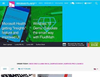 windowscentral.com screenshot