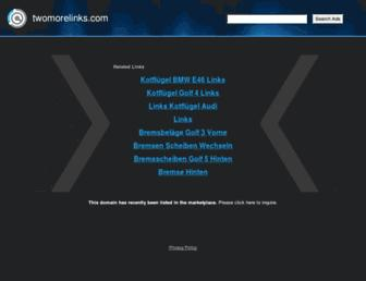 Thumbshot of Twomorelinks.com