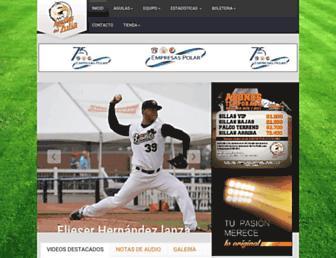aguilas.com screenshot