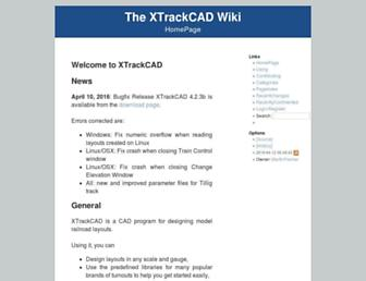 xtrkcad.org screenshot