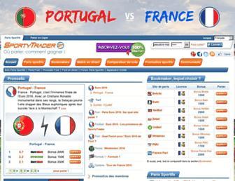 sportytrader.com screenshot