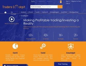 traderscockpit.com screenshot