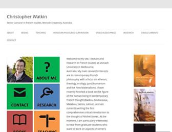 christopherwatkin.com screenshot
