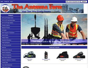 theantennafarm.com screenshot