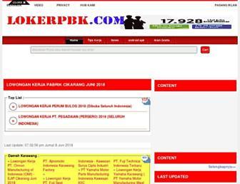 operator-produksi.karirsumut.com screenshot