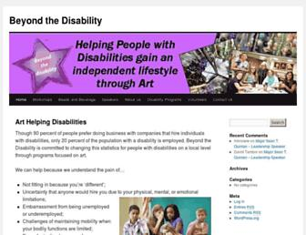 beyondthedisability.com screenshot
