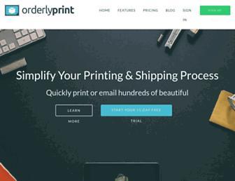 Thumbshot of Orderlyprint.com