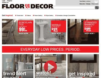 Thumbshot of Flooranddecor.com