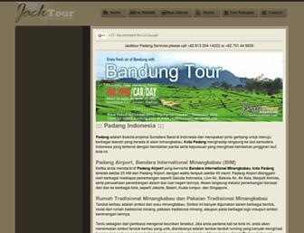 padang.jacktour.com screenshot