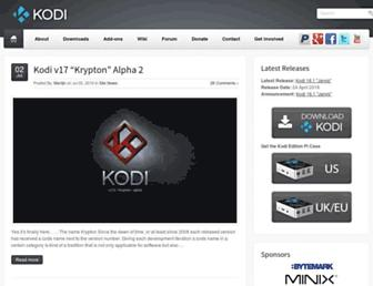 kodi.tv screenshot