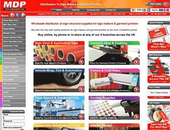Thumbshot of Mdpsupplies.co.uk